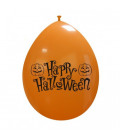 Palloncini arancio Halloween zucche - Ø 26 cm - 50 pezzi