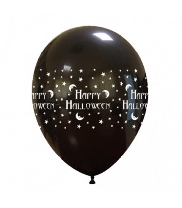 Palloncini Happy Halloween lattice - Ø 30 cm - 50 pezzi