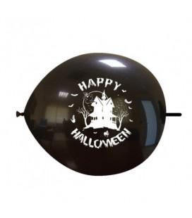 Palloncini link Halloween casa - Ø 32 cm - 50 pezzi