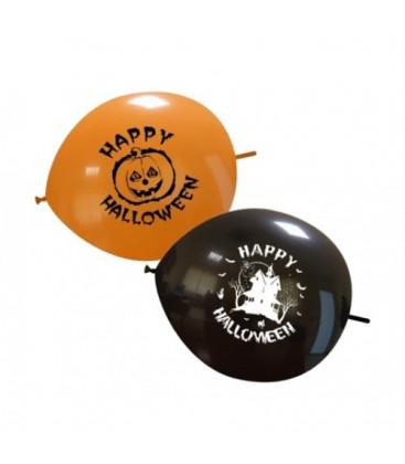 Palloncini link Halloween mix - Ø 32 cm - 50 pezzi