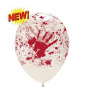 Palloncini Halloween sangue - Ø 30 cm - 50 pezzi