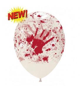 Palloncini Halloween sangue - Ø 30 cm - 100 pezzi