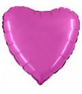 """Pallone cuore mylar """"scegli il tuo colore"""" - Ø 46 cm"""