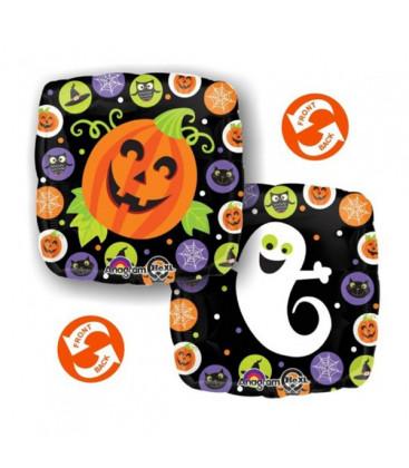 Palloncino circles Halloween HeXL® - Ø 46 cm