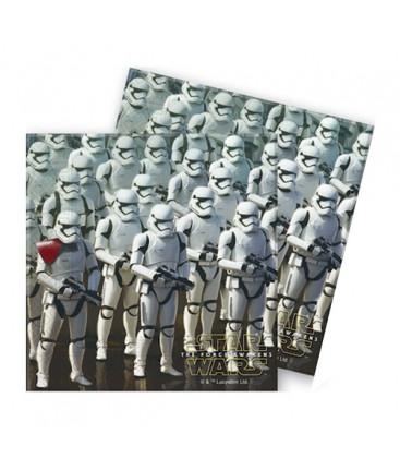 Star Wars - Il Risveglio della Forza - tovaglioli 33x33 cm - 20 pezzi