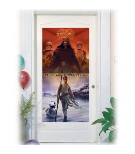 Star Wars - Il Risveglio della Forza - Festone da porta