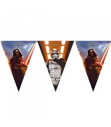 Star Wars - Il Risveglio della Forza - Festone bandierine triangolari