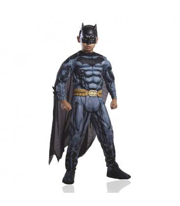 BATMAN - Costume deluxe con muscoli - 1 pezzo