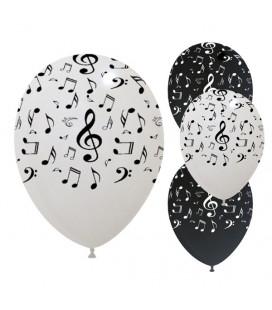 Palloncini Note Musicali - Ø 30cm - 100 pezzi