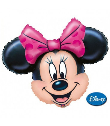 Minnie - Faccia XL® SuperShape - Ø 81 cm