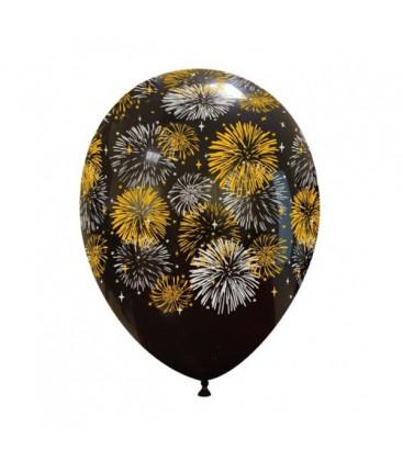 Palloncini capodanno Fuochi d'Artificio - Ø 30 cm - 100 pezzi