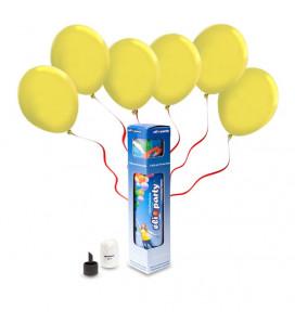Kit Elio SMALL + 10 palloncini gialli - Ø 23 cm