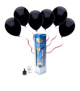 Kit Elio SMALL + 10 palloncini neri - Ø 23 cm