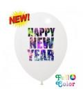 Palloncini Capodanno Full Color - Ø 30 cm - 100 pezzi