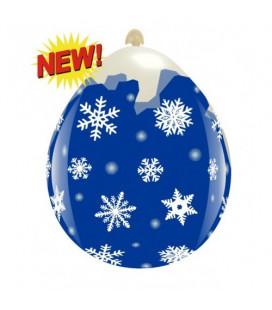 Palloncini Fiocchi di Neve - Ø 45 cm - 10 pezzi