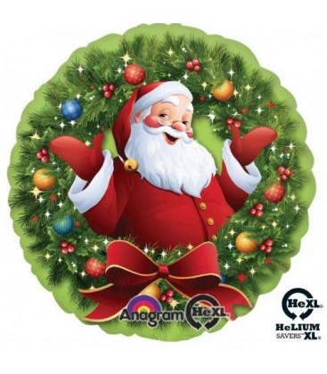 Palloncino Natale Ghirlanda HeXL® - Ø 46 cm