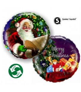 Merry Christmas Babbo Natale HeXL® - Ø 46 cm