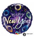 Happy New Year a colori - Ø 46 cm