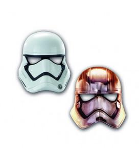 Star Wars - Maschera StormTrooper - 6 pezzi