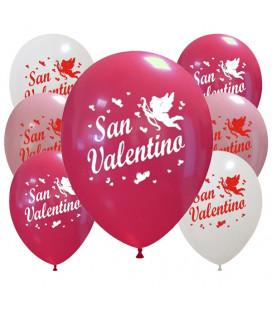 Palloncini assortiti San Valentino - Ø 30cm - 100 pezzi