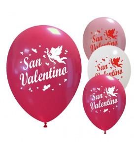 Palloncini assortiti San Valentino - Ø 30cm - 50 pezzi