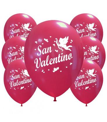 Palloncini rossi San Valentino - Ø 30cm - 100 pezzi