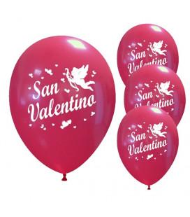 Palloncini rossi San Valentino - Ø 30cm - 50 pezzi