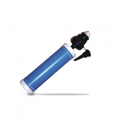 Pompa per gonfiaggio manuale palloncini, doppia azione