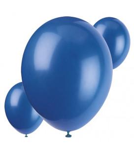 Palloncini blu biodegradabili - Ø 23 cm - confezione da 30