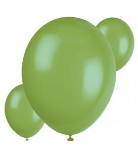 Palloncini verdi biodegradabili - Ø 23 cm - confezione da 30