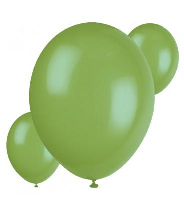 Palloncini verdi - Ø 23 cm - confezione da 30