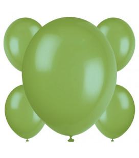 Palloncini verdi biodegradabili - Ø 23 cm - confezione da 50