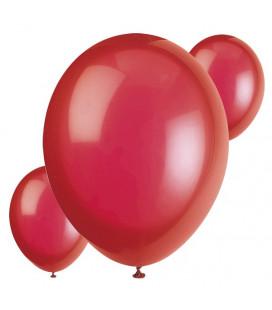 Palloncini rossi biodegradabili - Ø 23 cm - confezione da 30