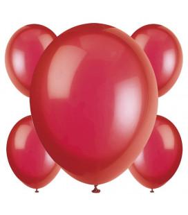 Palloncini rossi biodegradabili - Ø 23 cm - confezione da 50