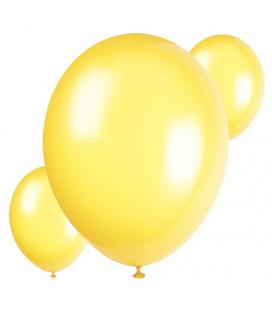 Palloncini gialli biodegradabili - Ø 23 cm - confezione da 30