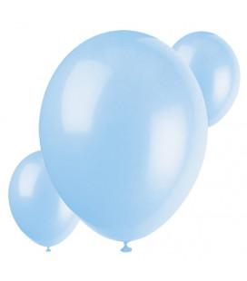 Palloncini azzurri biodegradabili - Ø 23 cm - confezione da 30