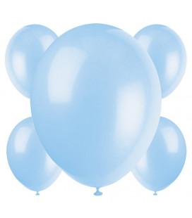 Palloncini azzurri biodegradabili - Ø 23 cm - confezione da 50