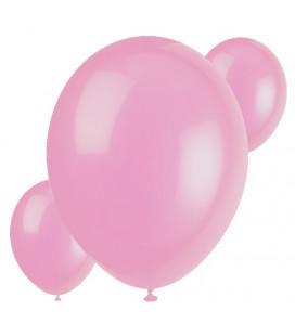 Palloncini rosa biodegradabili - Ø 23 cm - confezione da 30