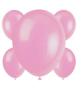 Palloncini rosa biodegradabili - Ø 23 cm - confezione da 50