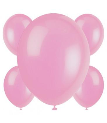 Palloncini rosa - Ø 23 cm - confezione da 50