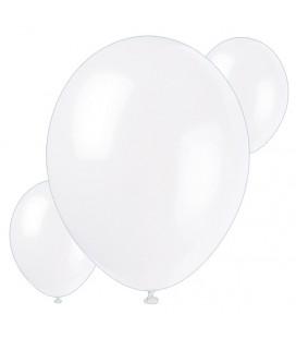 Palloncini bianchi biodegradabili - Ø 23 cm - confezione da 30