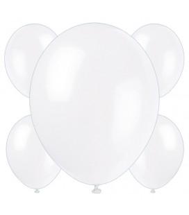 Palloncini bianchi biodegradabili - Ø 23 cm - confezione da 50