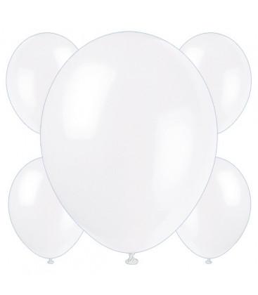 Palloncini bianchi - Ø 23 cm - confezione da 50