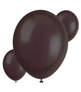 Palloncini neri biodegradabili - Ø 23 cm - confezione da 30
