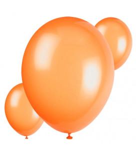 Palloncini arancioni biodegradabili - Ø 23 cm - confezione da 30