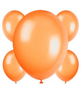 Palloncini arancioni biodegradabili - Ø 23 cm - confezione da 50