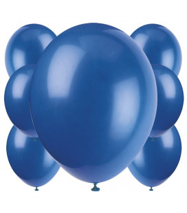 Palloncini blu biodegradabili - Ø 23 cm - confezione da 100