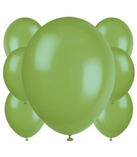 Palloncini verdi biodegradabili - Ø 23 cm - confezione da 100