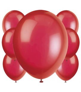 Palloncini rossi biodegradabili - Ø 23 cm - confezione da 100