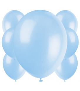 Palloncini azzurri biodegradabili - Ø 23 cm - confezione da 100